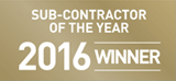 216 Contractor of the year winner